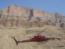 Helikopter Grand Canyon fra Las Vegas