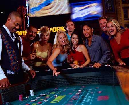 Craps på casino i Las Vegas