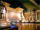 ingången i Luxors pyramid i Las Vegas
