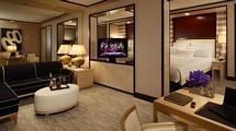 En av Encores sviter på hotellet i Las Vegas.