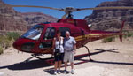 Helicopter to Grand Canyon